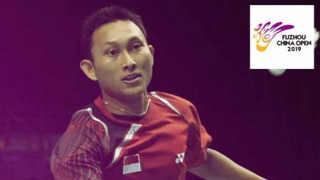 Sony Dwi Kuncoro hingga kini masih memegang rekor Indonesia di Fuzhou China Open, sebagai satu-satunya peraih gelar juara pada sektor tunggal putra. - INDOSPORT