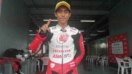 Keluarga Afridza Syach Munandar akan membangun museum dan kafe untuk mengenang sang pembalap yang meninggal dunia ketika mengikuti balapan Asia Talent Cup di sirkuit Sepang, Malaysia. - INDOSPORT