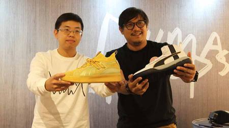 Suasana peluncuran sepatu PUMA Hoops di Gerai Hoops Senayan City pada Jumat (01/11/19). - INDOSPORT