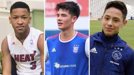 3 Wonderkid di Eropa yang bisa bela Timnas U-19 di Piala Dunia U-20, Joseph Simatupang Ferguson, Elkan Baggott dan Tristan Gooijer. - INDOSPORT