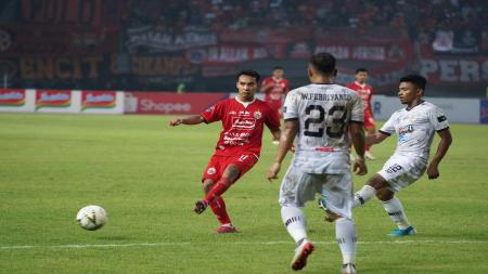 Laga Liga 1 2019 antara Persija Jakarta vs Tira Persikabo. - INDOSPORT