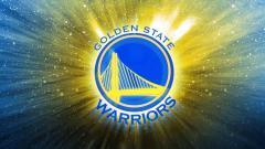 Indosport - Logo Golden State Warriors, tim basket NBA.