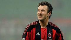 Indosport - Antonio Cassano legenda AC Milan