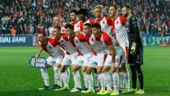 Indosport - Slavia Praha pernah diarsiteki mantan pelatih Arema.
