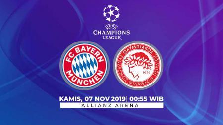 Bayern Munchen akan menjalani ujian berat kala melawan Olympiakos, Kamis (7/11/19), dalam matchday keempat grup B Liga Champions 2019/20. - INDOSPORT
