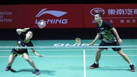 Tumbang di tangan pasangan India, Satwiksairaj Rankireddy/Chirag Shetty di babak kedua Swiss Open 2021, duet Rinov Rivaldy/Pitha Haningtyas akui kurang tahan dengan hal ini. - INDOSPORT
