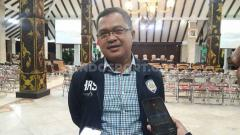 Indosport - Ketua Panpel Arema FC, Abdul Haris.