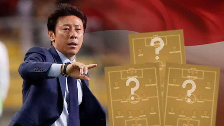3 Formasi Tak Biasa yang Bakal Diterapkan Shin Tae-yong Jika Melatih Timnas Indonesi Copyright: Grafis: Eli Suhaeli/INDOSPORT