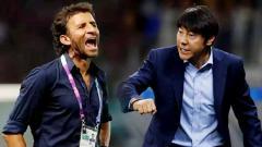 Indosport - Shin Tae-yong vs Luis Milla