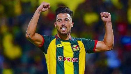 Jonathan Bauman bisa menghadirkan setidaknya tiga keuntungan buat Arema FC jika bergabung di Liga 1 2020. - INDOSPORT
