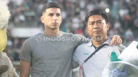 Pelatih klub Liga 1 2020 Persela Lamongan, Nilmaizar, mengungkapkan kapan pemain asingnya, Brian Ferreira, tiba di Indonesia. - INDOSPORT