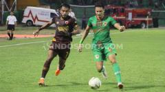 Indosport - PSM Makassar vs Kalteng Putra di Liga 1 2019.