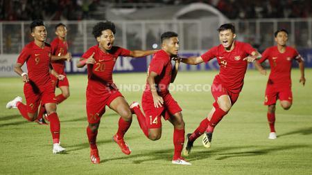 Timnas Indonesia U-19 vs Timor Leste U-19 - INDOSPORT