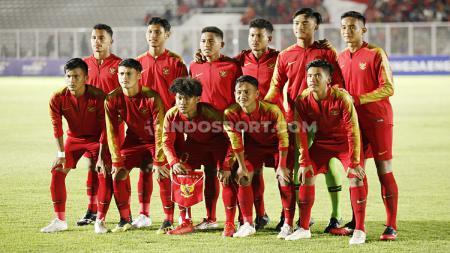 Peluang Timnas Indonesia U-19 untuk lolos ke Piala AFC U-19 2020, masih harus ditentukan lewat pertandingan terakhir Grup K kontra Korea Utara. - INDOSPORT
