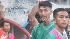 Indosport - Gelandang muda tuan rumah, Arif Satya Yudha Alkanza