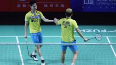 Indosport - Kevin/Marcus dipastikan akan berpartisipasi di World Tour Finals 2019 setelah lolos ke perempatfinal Fuzhou China Open.