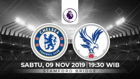 Chelsea bakal berjuang mati-matian untuk meneruskan tren positif dan meraih kemenangan dari Crystal Palace dalam lanjutan Liga Inggris pekan ke-11. - INDOSPORT
