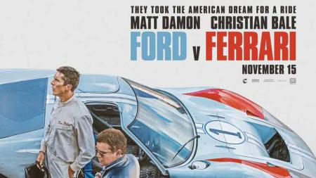 Poster film Ford vs Ferrari - INDOSPORT