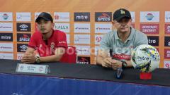 Indosport - Konferensi pers Kalteng Putra setelah ditaklukkan PSM dengan skor 1-2 di Stadion Andi Mattalatta, Makassar, Rabu (6/11/19). (Adriyan Adirizky/INDOSPORT)