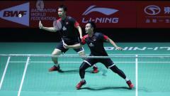 Indosport - Perkataan pebulutangkis Mohammad Ahsan saat berhadapan dengan pasangan Lee Yang/Wang Chi-lin di semifinal World Tour Finals 2019 jadi sorotan BWF.