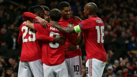 Manchester United akan kembali melakukan rotasi pemain saat menjamu AZ Alkmaar pada matchday keenam Liga Europa 2019-2020, Jumat (13/12/19). - INDOSPORT