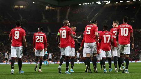 Klub sepak bola Liga Inggris, Manchester United, dikabarkan tengah mendapatkan kenaikan utang yang cukup besar akibat puasa gelar juara. - INDOSPORT