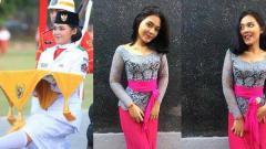 Indosport - Desak Tiara pembawa baki paskibra meninggal misterius