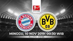 Indosport - Berita Liga Jerman: berikut prediksi pertandingan Bundesliga Jerman Bayern Munchen vs Borussia Dortmund di Allianz Arena, Minggu (10/11/19) WIB