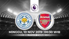 Indosport - Prediksi Leicester City vs Arsenal