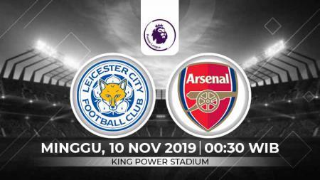 Prediksi Leicester City vs Arsenal - INDOSPORT