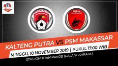 Indosport - Prediksi pertandingan tunda pekan ke-10 antara Kalteng Putra vs PSM Makassar dalam ajang Liga 1 2019 bakal berjalan menarik, Minggu (10/11/19).