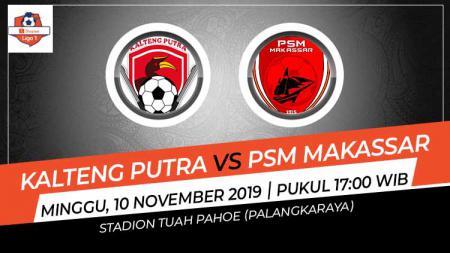 Jadwal pertandingan Shopee Liga 1 hari ini, Minggu (10/11/19) pukul 17.30 WIB, akan tersaji partai tunda pekan ke-10 antara Kalteng Putra melawan PSM Makassar. - INDOSPORT