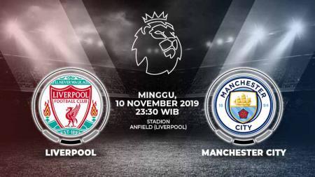 Berikut prediksi pertandingan antara Liverpool vs Manchester City di Stadion Anfield, Minggu (10/11/19) WIB. - INDOSPORT