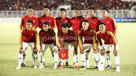 Skuat Timnas Indonesia U-19 punya modal kuat untuk lolos dari fase grup Piala Asia U-19 2020. - INDOSPORT