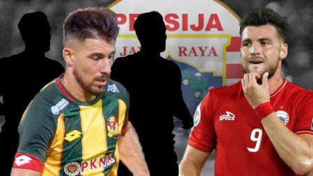 Selain Bauman, 3 opsi penyerang asing yang bisa jadi tandem Marko Simic di Persija musim depan - INDOSPORT