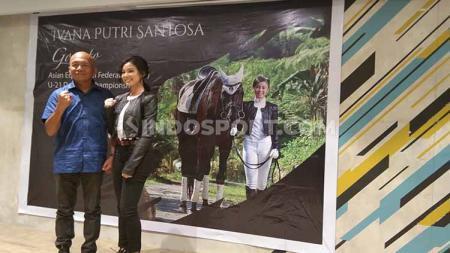 Atlet Berkuda wanita Indonesia, Ivana Putri Santosa - INDOSPORT