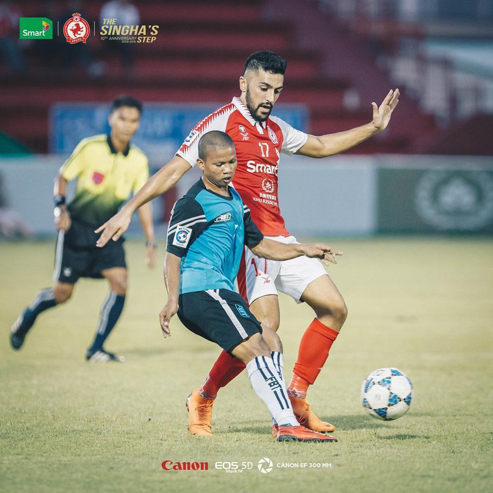 Bati Youth saat berlaga di C-League 2019. Copyright: Vocketfc.com