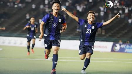 Kamboja menjadi wakil terakhir, sekaligus negara ASEAN kelima, yang memastikan diri lolos ke Piala Asia U-19 2020. - INDOSPORT