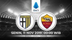 Indosport - AS Roma diprediksi akan mendapatkan perlawanan sengit dari Parma dalam laga pekan ke-12 Serie A Italia di Ennio Tardini, Senin (11/11/19), pukul 00.00 WIB.
