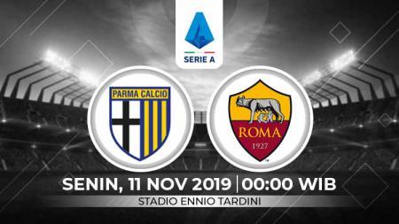 Link live streaming pertandingan Serie A Italia Parma vs AS Roma - INDOSPORT