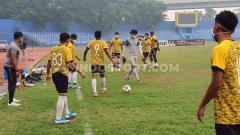 Indosport - PSMS Medan akan melakoni partai hidup mati mereka di Babak 8 Besar Liga 2 Indonesia 2019 Grup kontra Persita Tangerang di Stadion Gelora Sriwijaya Jakabaring.