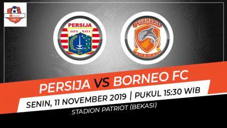 Berikut prediksi pertandingan Shopee Liga 1 2019 antara Persija Jakarta vs Borneo FC di Stadion Wibawa Mukti, Cikarang, Senin (11/11/19) pukul 15.30 WIB - INDOSPORT