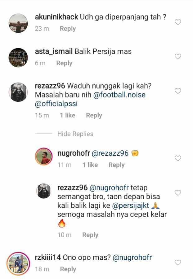 Postingan ke PSIM Yogyakarta. Copyright: Instagram