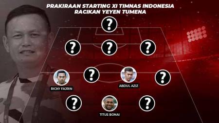 Prakiraan Starting XI Timnas Indonesia Racikan Yeyen Tumena - INDOSPORT