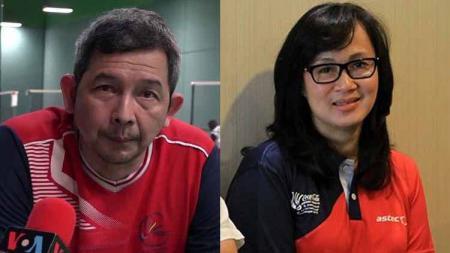 Legenda bulutangkis Indonesia untuk Ganda Campuran, Rudy Gunawan dan Rosiana Tendean. - INDOSPORT