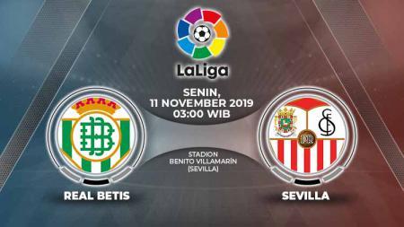 Duel sengit di LaLiga Spanyol antara dua klub asal Andalusia, Sevilla FC dan Real Betis, yang kerap disebut 'El Gran Derbi' alias Derbi Besar akhir pekan in - INDOSPORT