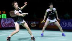 Indosport - Sukses menjuarai Fuzhou China Open 2019, pasangan Yuki Fukushima/Sayaka Hirota sukses menorehkan rekor apik di ranking BWF.