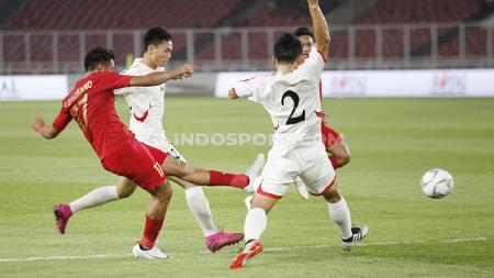 Terdapat tiga fakta terselubung usai Timnas Indonesia U-19 diimbangi Korea Utara U-19, 1-1 di ajang Kualifikasi Piala Asia U-19 2020. - INDOSPORT