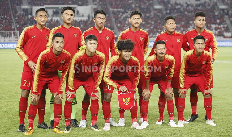 Skuat Timnas Indonesia U-19. Copyright: Herry Ibrahim/INDOSPORT