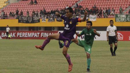 PSMS Medan bermain imbang 1-1 atas Persik Kediri pada laga perdana Grup B babak 8 besar Liga 2 2019. - INDOSPORT